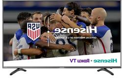 "Hisense Roku TV 55"" class R7E  4K UHD Roku TV with HDR"