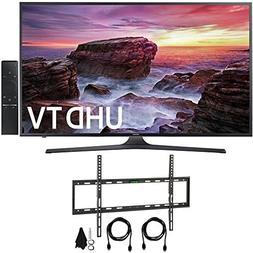 """Samsung UN55MU6290FXZA Flat 54.6"""" LED 4K UHD 6 Series Smart"""