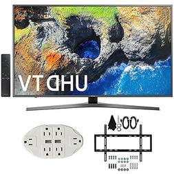 """Samsung UN55MU7000 54.6"""" 4K Ultra HD Smart LED TV  w/ Wall M"""