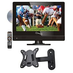 "Supersonic SC-1312 13.3"" LED Widescreen HDTV with DVD Player"