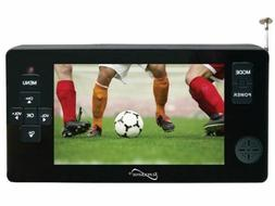 "Supersonic SC-143 4.3"" LED Portable/Pocket TV +Rechargeable/"