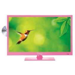 Supersonic SC-1512PK Pink 15.6 LED Widescreen HDTV Televisio