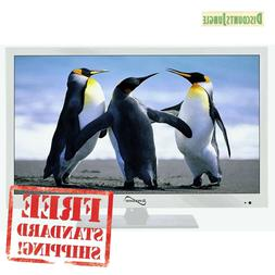 Supersonic SC-1511 White 15.6 1080p LED Widescreen HDTV with