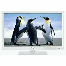 "Supersonic SC-1511 White 15.6"" 1080p LED Widescreen HDTV wit"