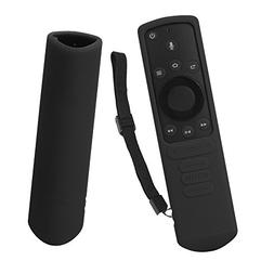 SIKAI Shockproof Silicone Case For Fire TV Edition Remote Du