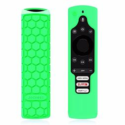 Fintie Silicone Case for Fire TV Edition Remote - Honey Comb