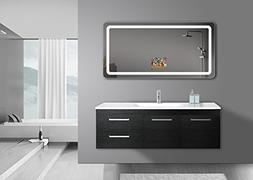 "GlassTek Smart TV Mirror 10.4"" Screen - 63"" X 31.5"" Mirror;"