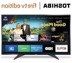 Smart TVs 55-Inch Toshiba 4K Ultra HD Smart LED TV with HDR