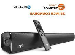 Soundbar, TaoTronics Sound Bars for TV Sound bar Wired & Wir