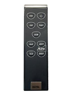 Vizio SOUNDBAR VR8S Remote Control For VSB200 VSB210 VSB210W