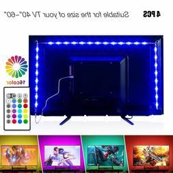 PANGTON VILLA Led Strip Lights 6.56ft for 40-60in TV, USB LE