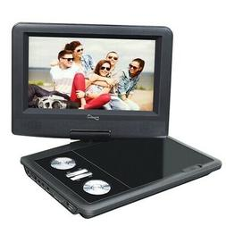 """Supersonic 7"""" Widescreen Portable DVD Player with 270 Degree"""