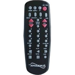 Supersonic SC-27 Universal Remote Control - For TV, Auxiliar