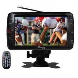 Supersonic SC-195 7 Portable LCD TV W/Remote and ATSC Digita
