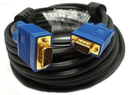 Importer520 50 FT SVGA HD15 SUPER VGA Male to Male M/M MONIT