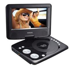 Sylvania 7 Swivel Screen Portable DVD Player