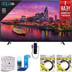 """TCL 55"""" 4K Ultra HD Roku Smart LED TV w/ DualBand WiFi & Eth"""