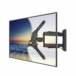 Articulating Full Motion TV Wall Mount Tilt Swivel 360° For