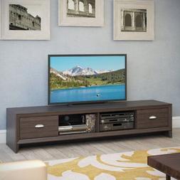 CorLiving TLK-872-B Lakewood Extra Wide TV Bench - Modern We