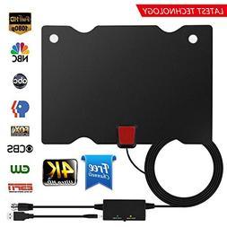 Eliubing TV Antenna, Indoor HDTV Antenna 1080P/4K/2160P 60-9