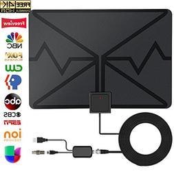 TV Antenna, Digital HDTV Antenna Indoor 70 Miles with HDTV A