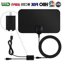 TV Antenna,Indoor Amplified Digital HDTV Antenna 50 Mile Ran
