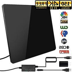 HD Antenna,HD Digital Indoor TV Antenna Version, 150 Mile R
