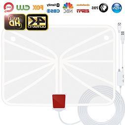 TV Antenna, Indoor HDTV Antenna 1080p/4K/2160p 60-95 Miles R