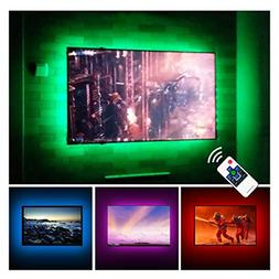 "TV LED Backlights USB Bias Lighting For 60"" 65"" 70"" Inches T"