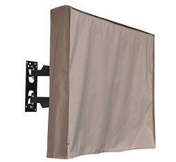 "Outdoor 50"" TV Cover,Brown Weatherproof Universal Protector"