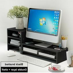 TV Display Height Increase Neck Notebook Stand Base Desk Key