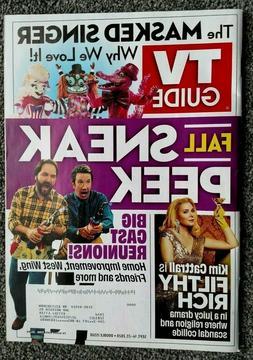 TV GUIDE ~ FALL SNEAK PEEK ISSUE w/ BIG CAST REUNIONS ~ SEPT