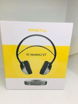 tv listener j3 wireless lightweight rechargeable headphones