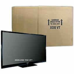"""Uboxes TV Moving Box Flat Screen Fits TV's 32"""" To 70"""" Adjust"""