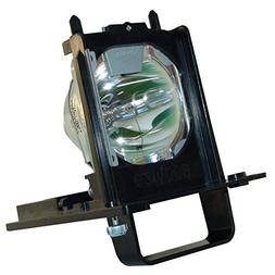 WOWSAI TV Replacement Lamp in Housing for Mitsubishi WD-7364