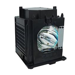 WOWSAI TV Replacement Lamp in Housing for Mitsubishi WD-Y57,