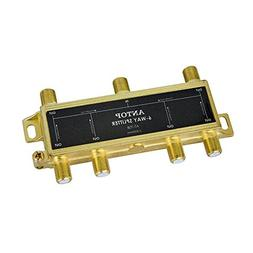 ANTOP 6 Way Coaxial Splitter for TV Antenna and Satellite 18