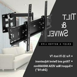 TV Wall Mount Swivel Tilt Bracket 32 42 47 51 55 60 65 70 75