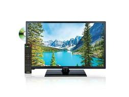 "Axess TVD180524 24"" Black Widescreen HD LED TV DVD Combo"