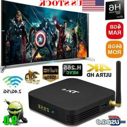TX6 TV BOX H6 4GB+64GB Android 9.0 Bluetooth 4K Quad Core Wi