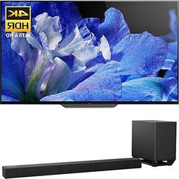 "Sony Bravia XBR65A8F 65"" 4K HDR10 HLG Dolby Vision Trilumino"