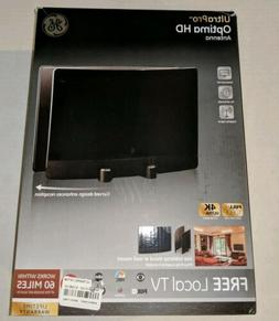 GE UltraPro Optima Curved 60 Mile Range TV Antenna, Full HD