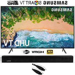 "Samsung UN55NU7100  55"" NU7100 Smart 4K UHD TV  with Vivitar"