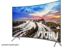 """Samsung UN65MU8500 65"""" Curved Smart LED 4K Ultra HD TV w/ HD"""