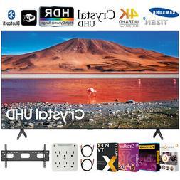 """Samsung UN65TU7000 65"""" 4K Ultra HD Smart LED TV  + Movies St"""