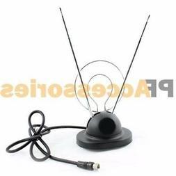 Wideskall Wideskall Universal Indoor Rabbit Ear TV Antenna f