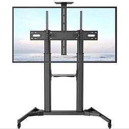 XUEXUE Universal TV Cart,Floor Tv Stand Mount,Big Screen,Bus