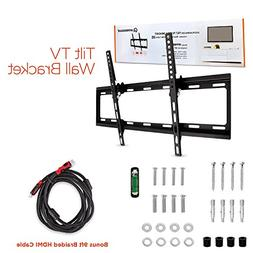 Universal TV Mount, Slim Low Profile Secure Mounting for 32-