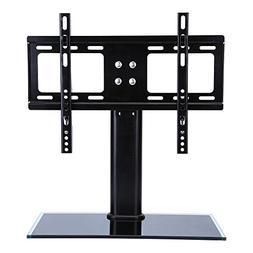 Universal TV Stands Desktop, Adjustable LCD LED Plasma TV Fl
