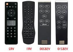 VSB210 VSB200 VR1 VR2 Replace Remote for Vizio TV/Soundbar V